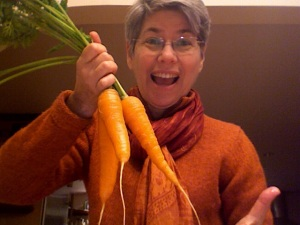 The Organic Carrots from my garden
